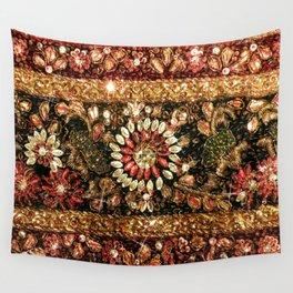 Beaded Indian Saree Photo Wall Tapestry