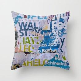 MPL11 Throw Pillow