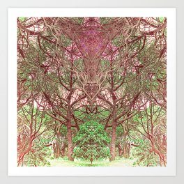 Nature's Cathedral #1 Art Print