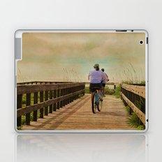 Sunny Day Bike Ride Laptop & iPad Skin