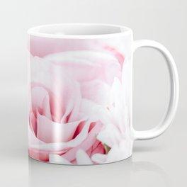 Pink Roses and Gerbera Daisy Flowers Wedding Bouquet, Love Photo, Romantic Celebration, Wall Art Coffee Mug