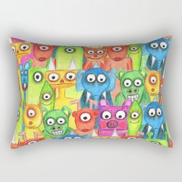 hi hi hi  Rectangular Pillow