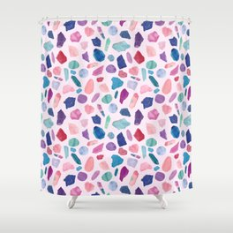 Crystalarium Shower Curtain