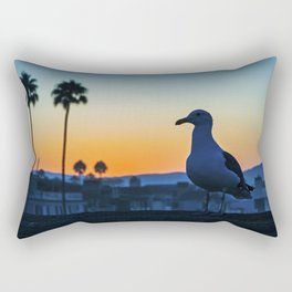Sunrise Seagull Rectangular Pillow