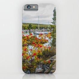 US Coast Guard - Station North Superior, Grand Marais, Minnesota 2 iPhone Case