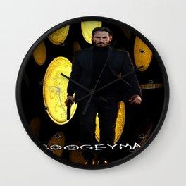 THE BOOGEYMAN Wall Clock