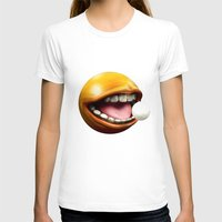 pacman T-shirts featuring PacMan by Joshua A. Biron