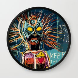 Keeping the mystery alive Wall Clock