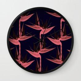 Strelitzia Alba SE Wall Clock