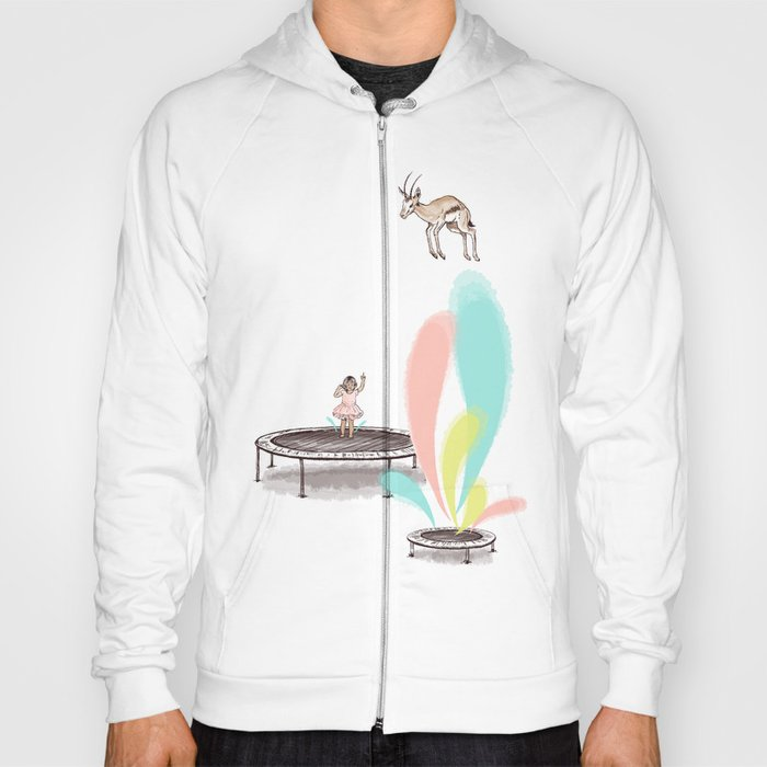 Gazelles Make Bad Friends Hoody