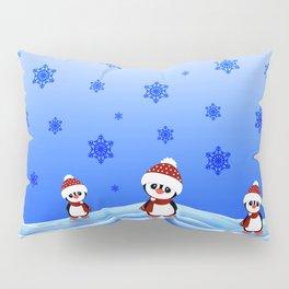 Christmas Pinguin Pillow Sham