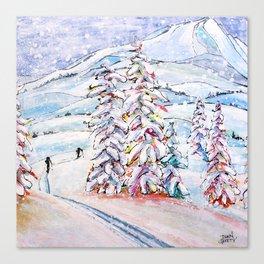 Breaking Trail Canvas Print