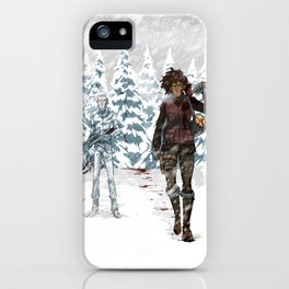 Under the Dead Skies - Snow iPhone Case