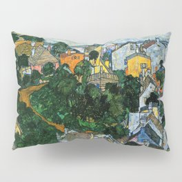 Summer Landscape Pillow Sham