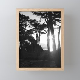 Lands End Sunset Framed Mini Art Print