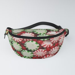 Peppermints and Cinnamon Fanny Pack