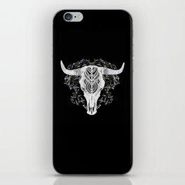 Death is a Black Rose iPhone Skin