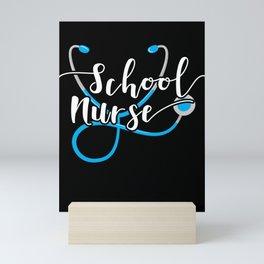 School Nurse Gift Nursing School Nursing Gift Mini Art Print