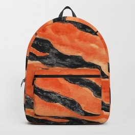 Tiger Stripes (Orange/Black) Backpack