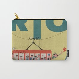 Vintage Rio Poster Carry-All Pouch