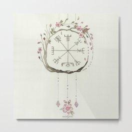 Sakura Vigsivir Protection Metal Print