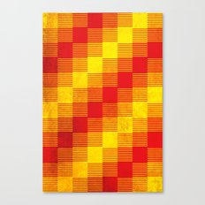 Rusty yellow and red motive Canvas Print
