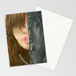 Who's That Girl? Stationery Cards