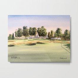 Oakmont Golf Course Metal Print
