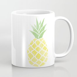 Watercolor Pineapple Coffee Mug