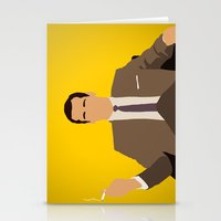 mad men Stationery Cards featuring Don Draper - Mad Men by Tom Storrer