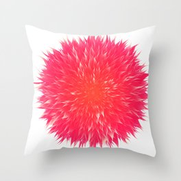 Mandala Flower || Rose Throw Pillow