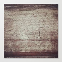Brick Texture Canvas Print