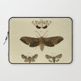 Vintage Moths Laptop Sleeve