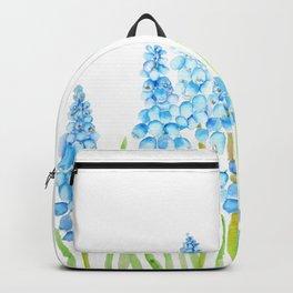 blue grape hyacinth 2  Backpack