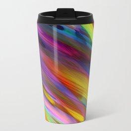 Colorful digital art splashing G398 Travel Mug