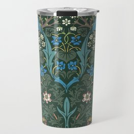 William Morris Blackthorn Pattern, 1892 Travel Mug