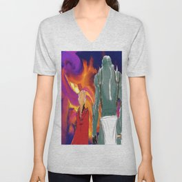Elric brothers  Unisex V-Neck