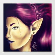 Elf Queen Canvas Print