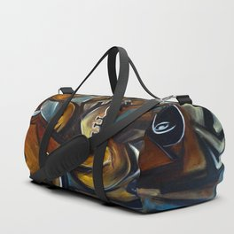 Black Cat Jazz Duffle Bag