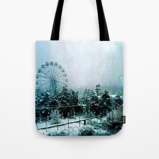 Cold Forest Playground Tote Bag