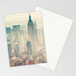 New York Tilt Shift Stationery Cards