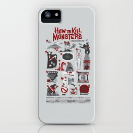 How to Kill Monsters iPhone Case