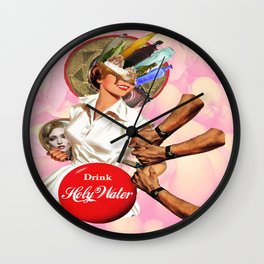 Coca-Christ Wall Clock