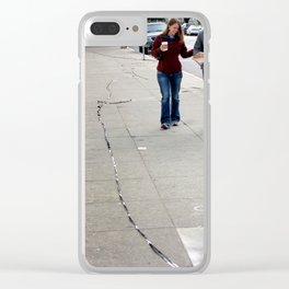 Caught Off Tape - The Extended Version Clear iPhone Case