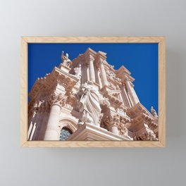 Cathedral of Siracusa - Sicily Framed Mini Art Print