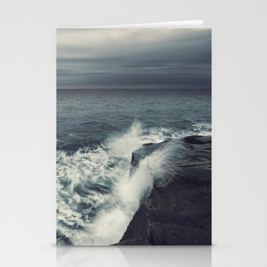 Dancing Ashore Stationery Cards