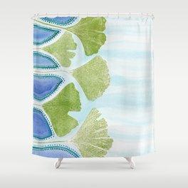 Ginkgo Delta Shower Curtain