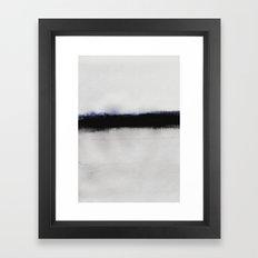 Simple Horizon Framed Art Print