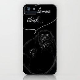 lemme think... iPhone Case