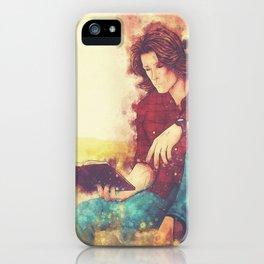 Hardcover (Splatter) iPhone Case